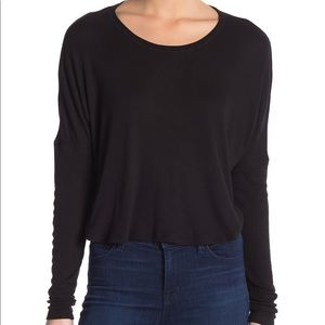 NWT Long Sleeve Ribbed Top by Abound Size Medium